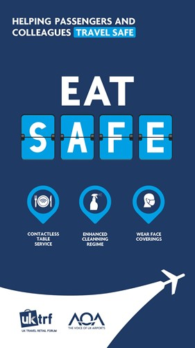 eat safe - helping passengers and colleagues travel safe